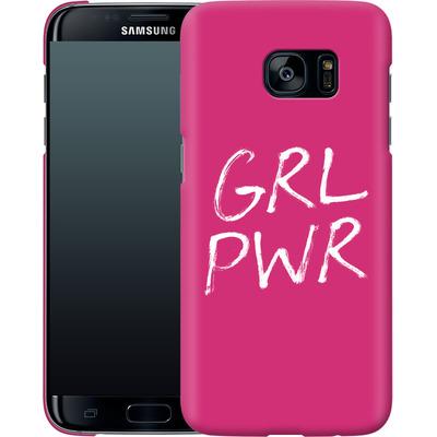 Samsung Galaxy S7 Edge Smartphone Huelle - GRLPWR von caseable Designs