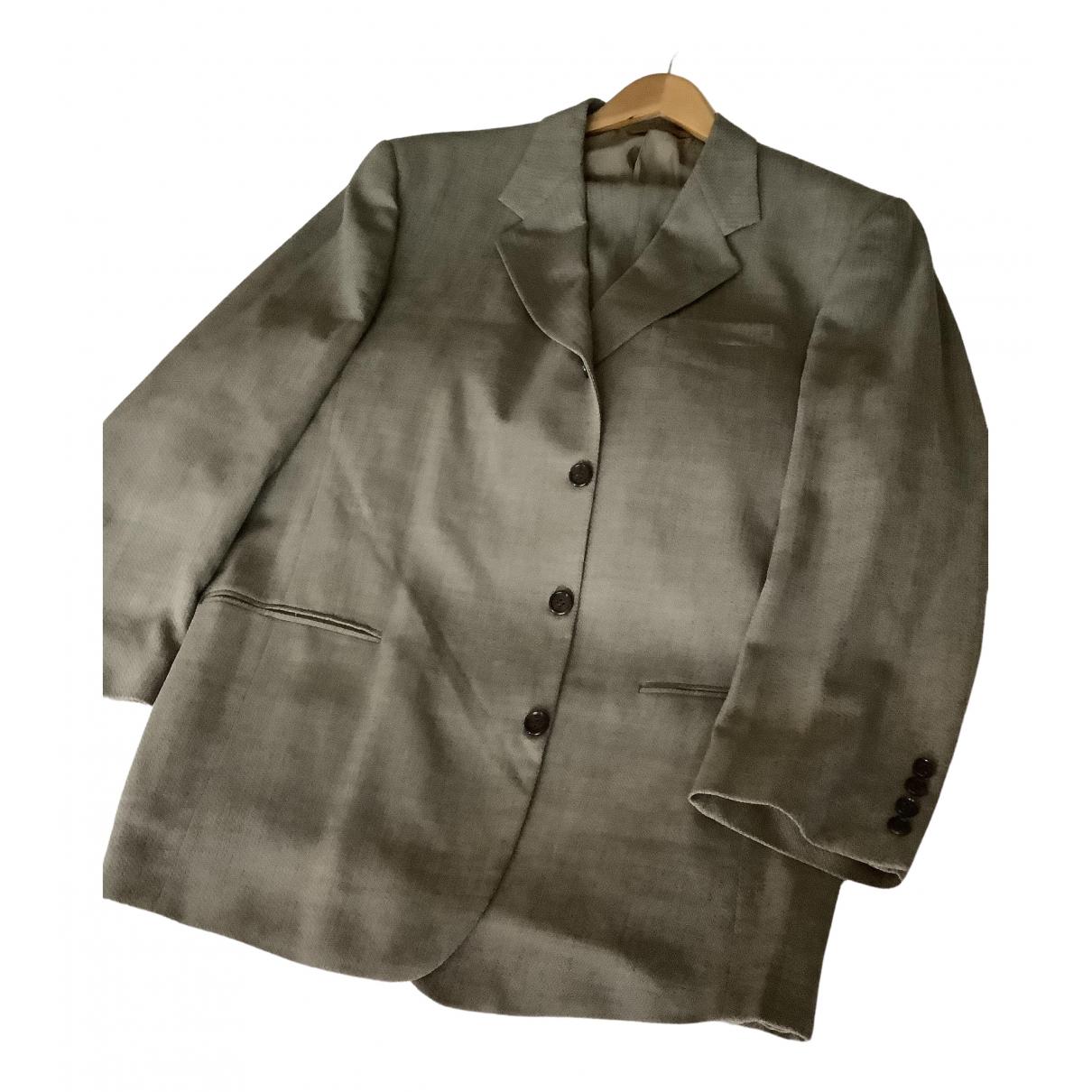 Donna Karan - Costumes   pour homme en laine - beige