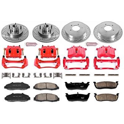 Power Stop Z23 Evolution Sport Performance 1-Click Front and Rear Brake Kit - KC1864