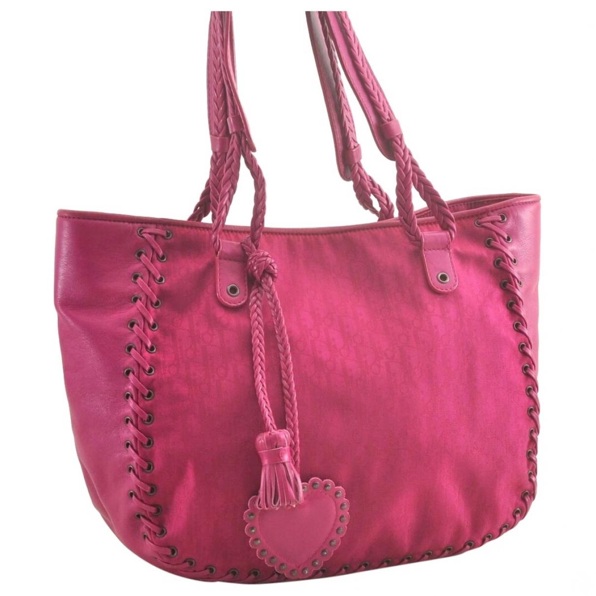 Dior \N Purple handbag for Women \N