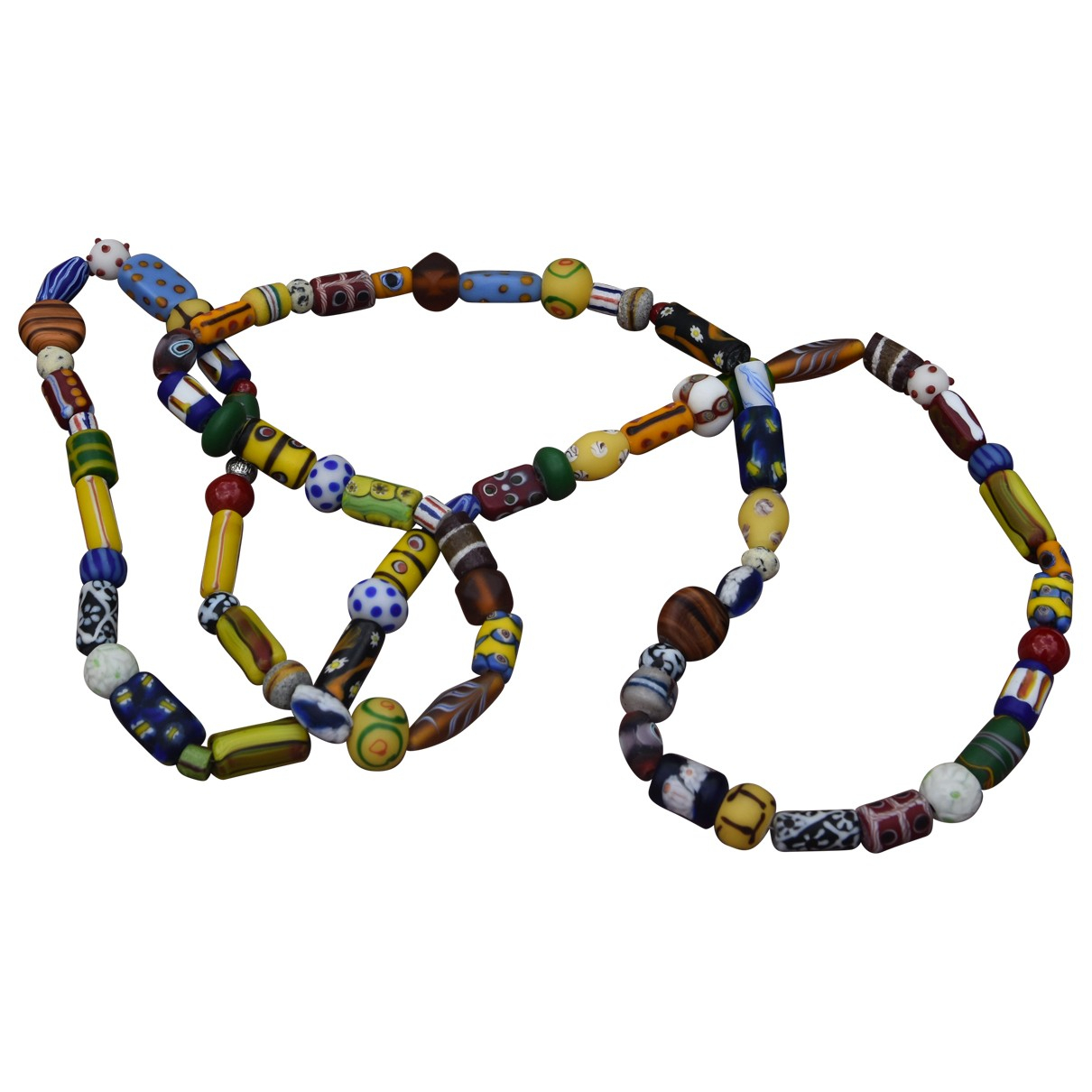 Non Signé / Unsigned \N Multicolour Glass necklace for Women \N