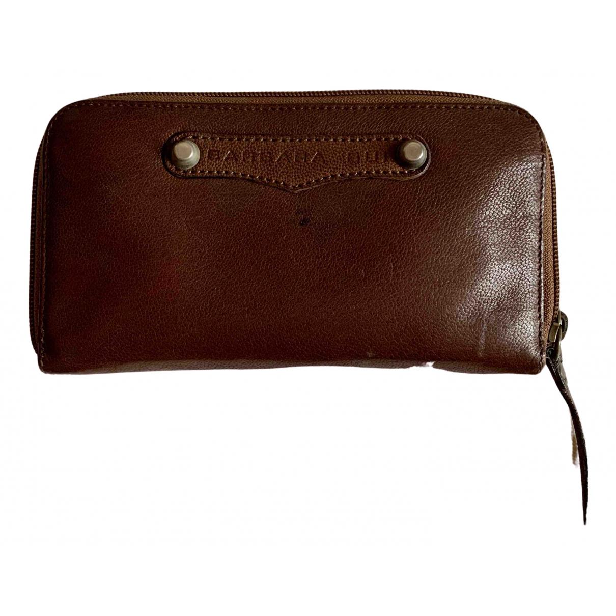 Barbara Bui N Brown Leather wallet for Women N