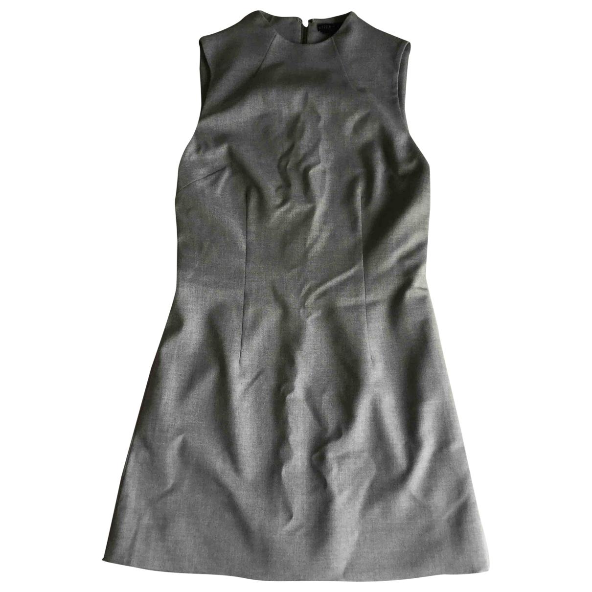 Alice & Olivia \N Kleid in  Grau Polyester