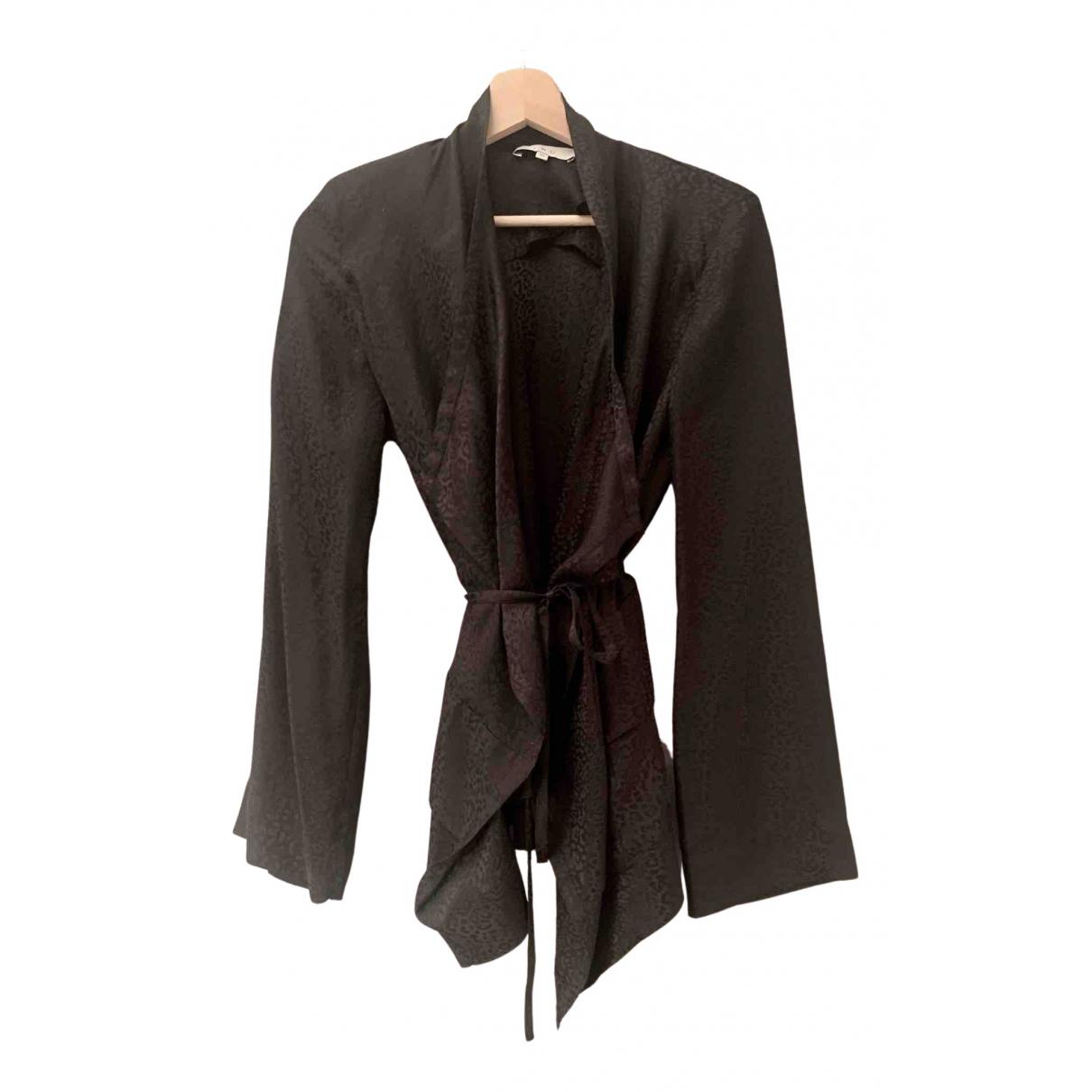 Iro - Top   pour femme en soie - noir