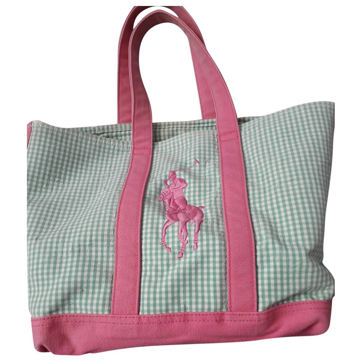 Ralph Lauren \N Green Cotton handbag for Women \N