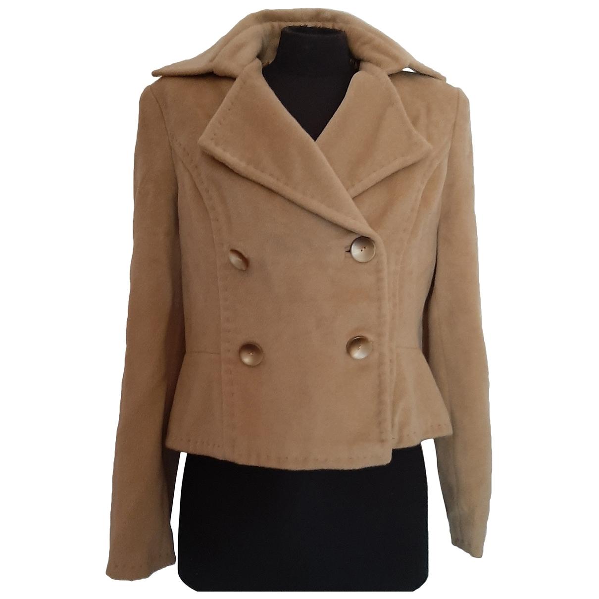 Max Mara \N Camel Wool jacket for Women S International