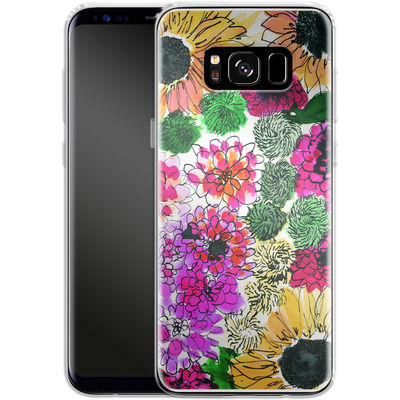 Samsung Galaxy S8 Silikon Handyhuelle - Fiore Sunshine von Amy Sia