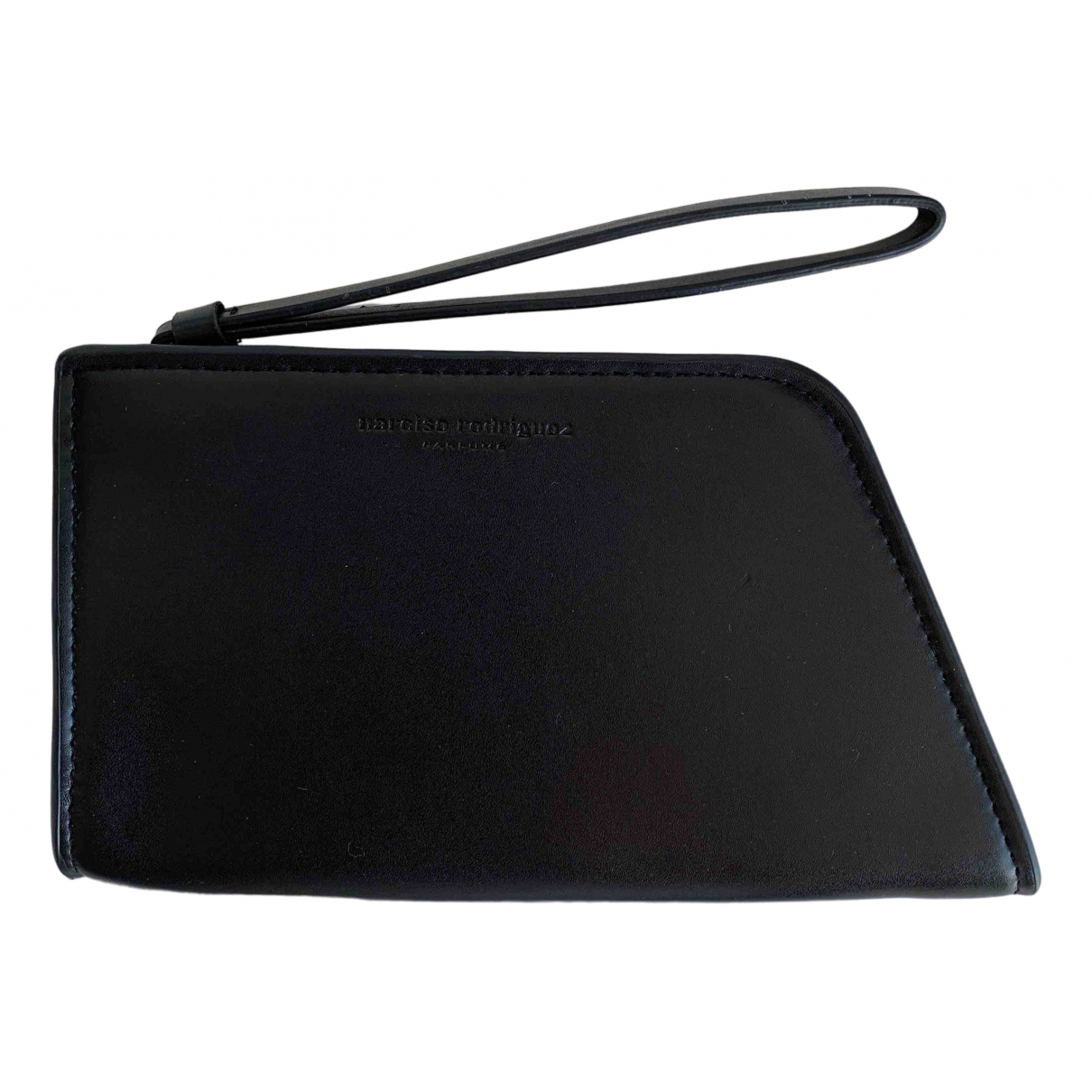 Narciso Rodriguez \N Black Leather Purses, wallet & cases for Women \N