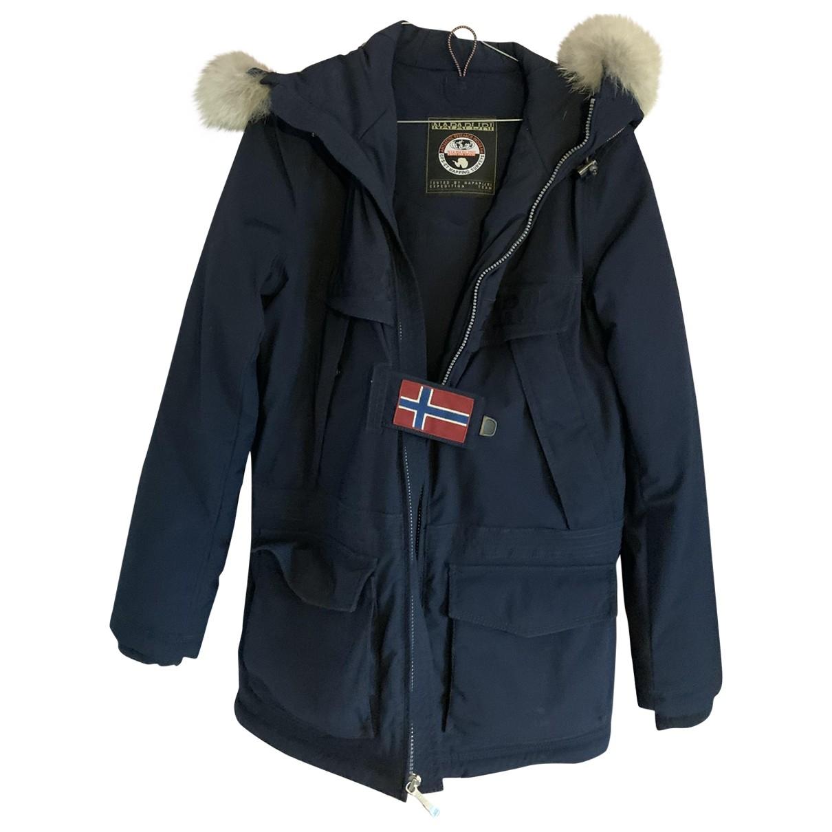 Napapijri - Manteau   pour femme - dore