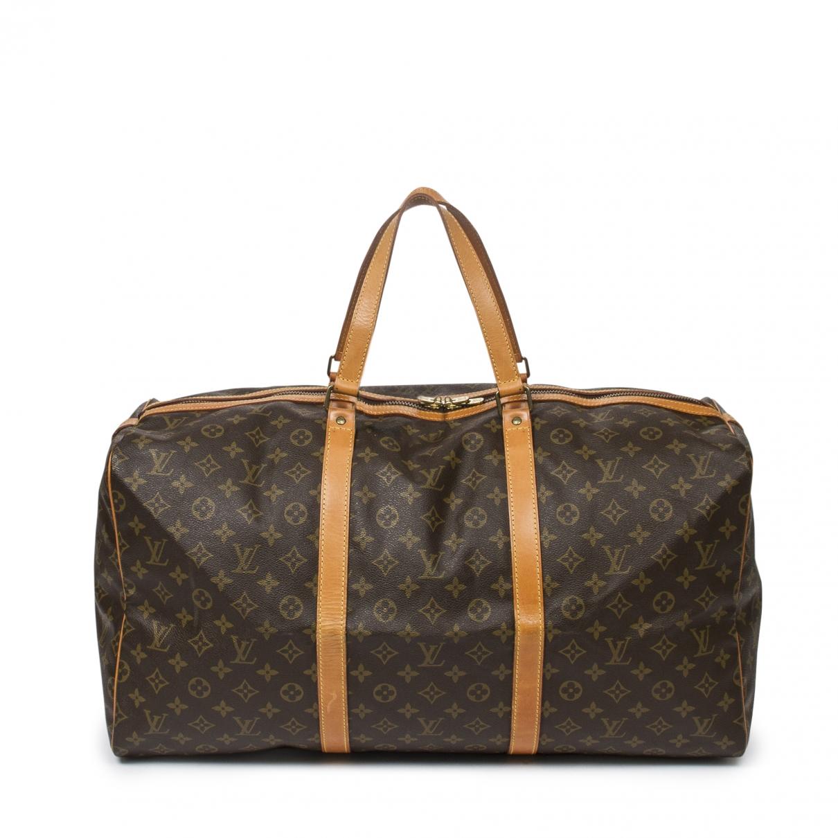 Louis Vuitton Sac souple  Brown Cotton handbag for Women \N