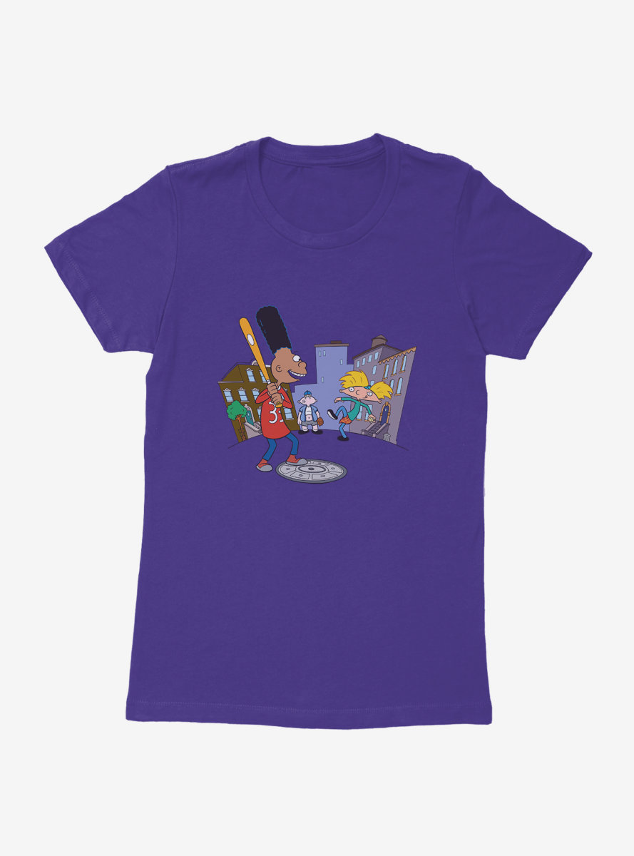 Hey Arnold! Baseball Womens T-Shirt