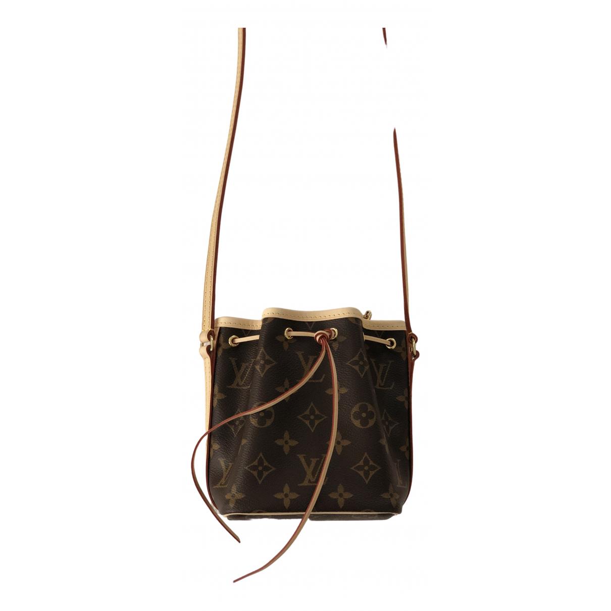Louis Vuitton Noe Handtasche in Leinen