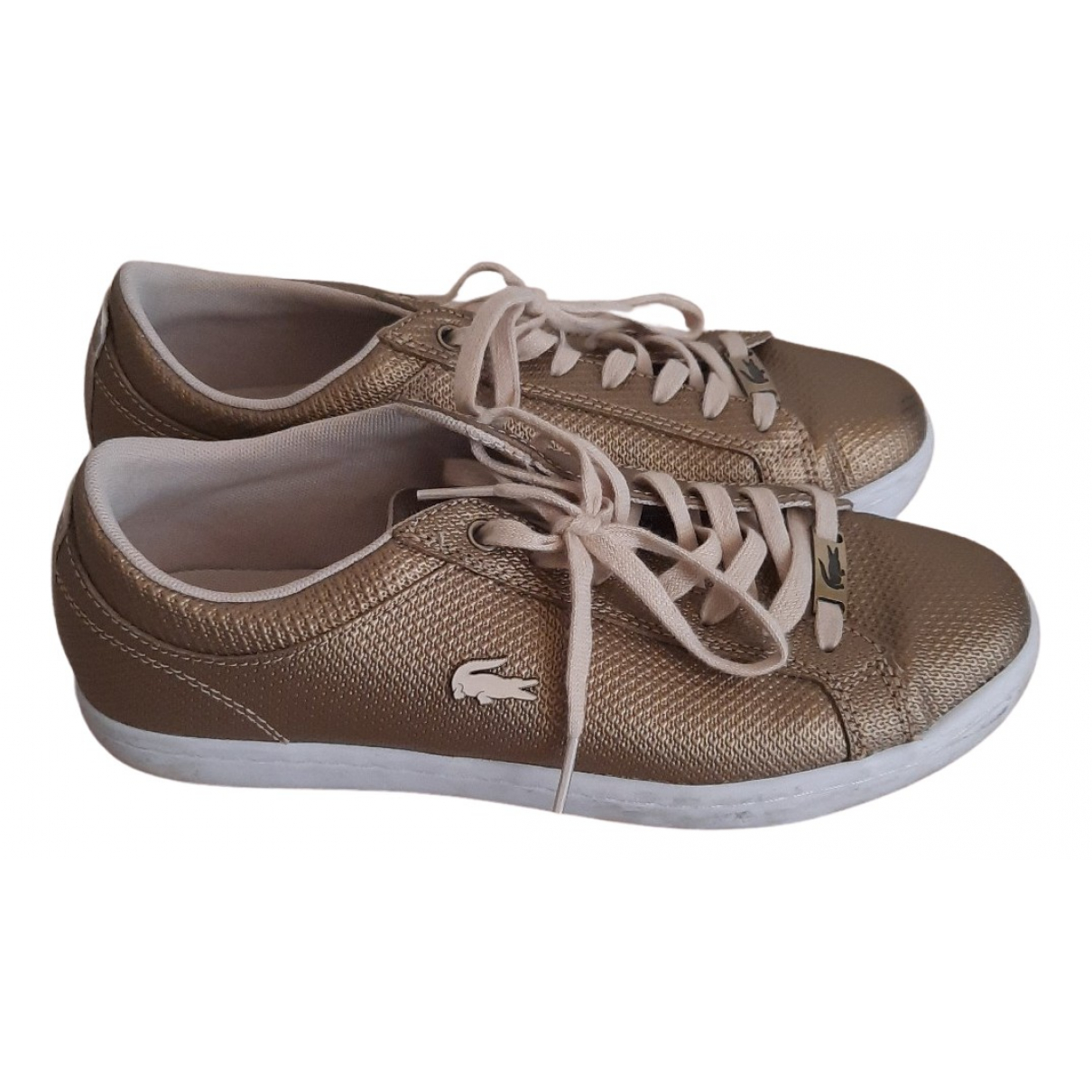 Lacoste N Leather Trainers for Women 40 EU