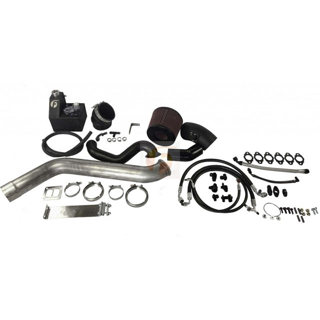 Fleece Performance FPE-674-13-2G-NT-SS 2013-2018 2nd Gen Swap Kit with Steed Speed Manifold No Turbo