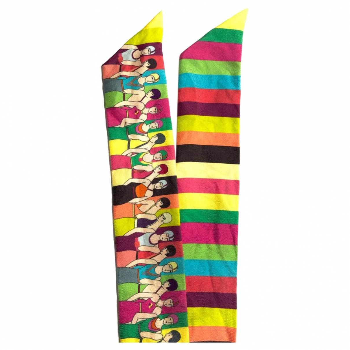 Hermès Twilly 86 Multicolour Silk scarf for Women \N