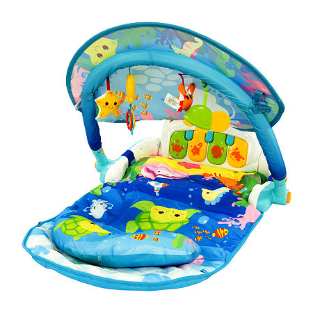 Magic Lights And Musical Play Gym, One Size , No Color Family
