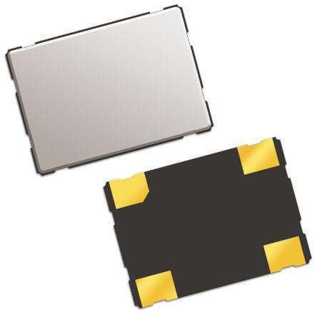 QT Quarztechnik , 25MHz Clock Oscillator, ±25ppm HCMOS, TTL, 4-Pin SMD QTX733A25.0000B15R