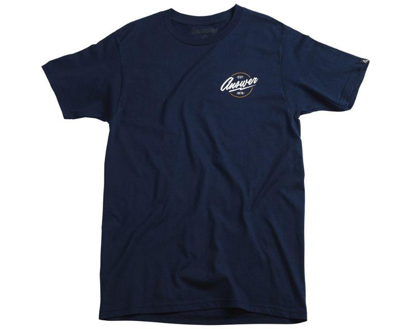 Answer 445058 Bolt T-Shirt Cool Blue XL