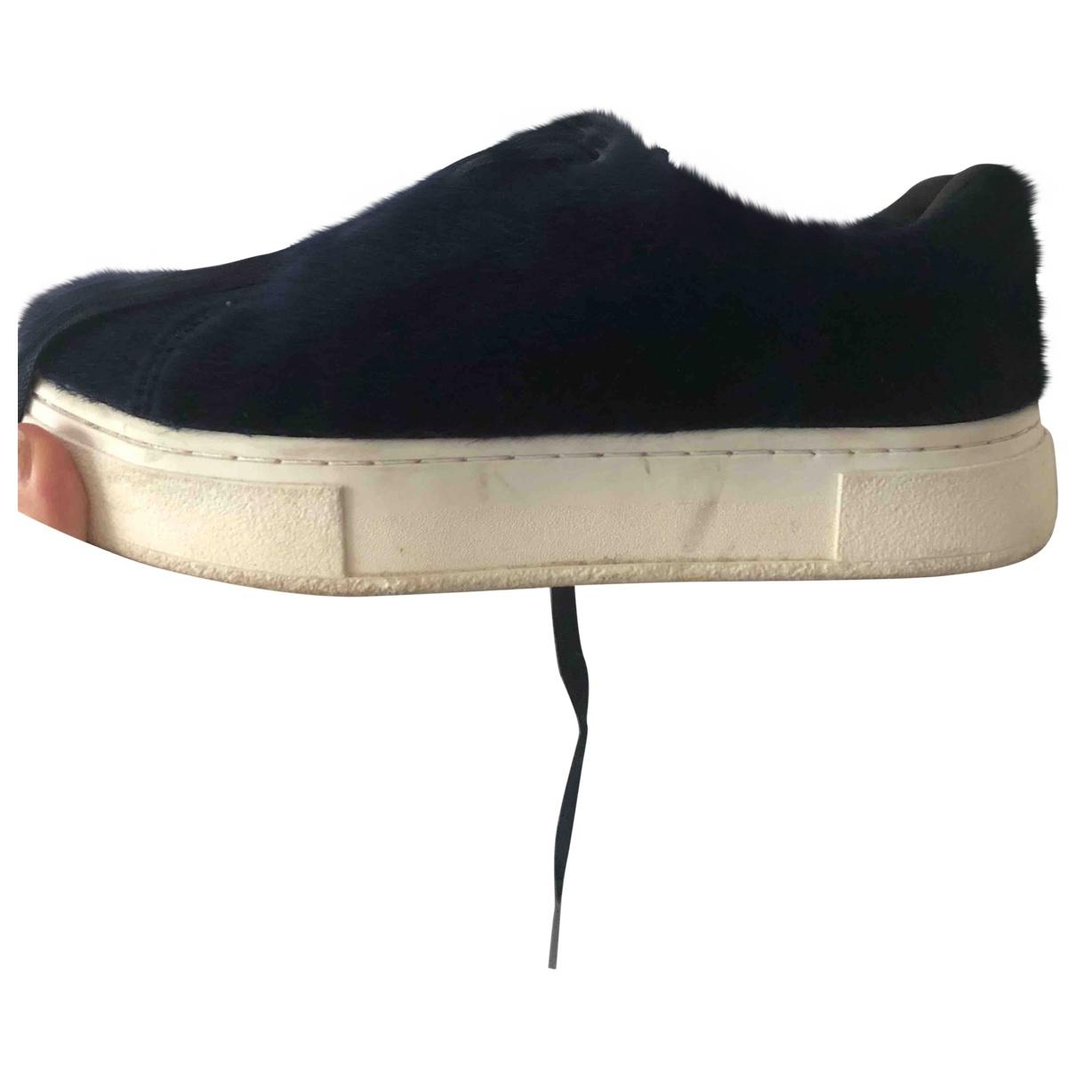 Eytys \N Sneakers in  Marine Synthetikpelz