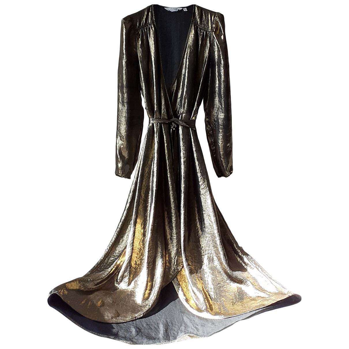 & Other Stories \N Kleid in  Gold Polyester