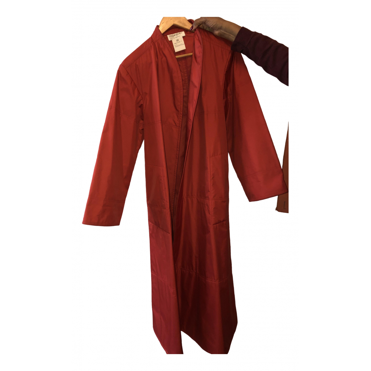 Yves Saint Laurent \N Red coat for Women 40 FR