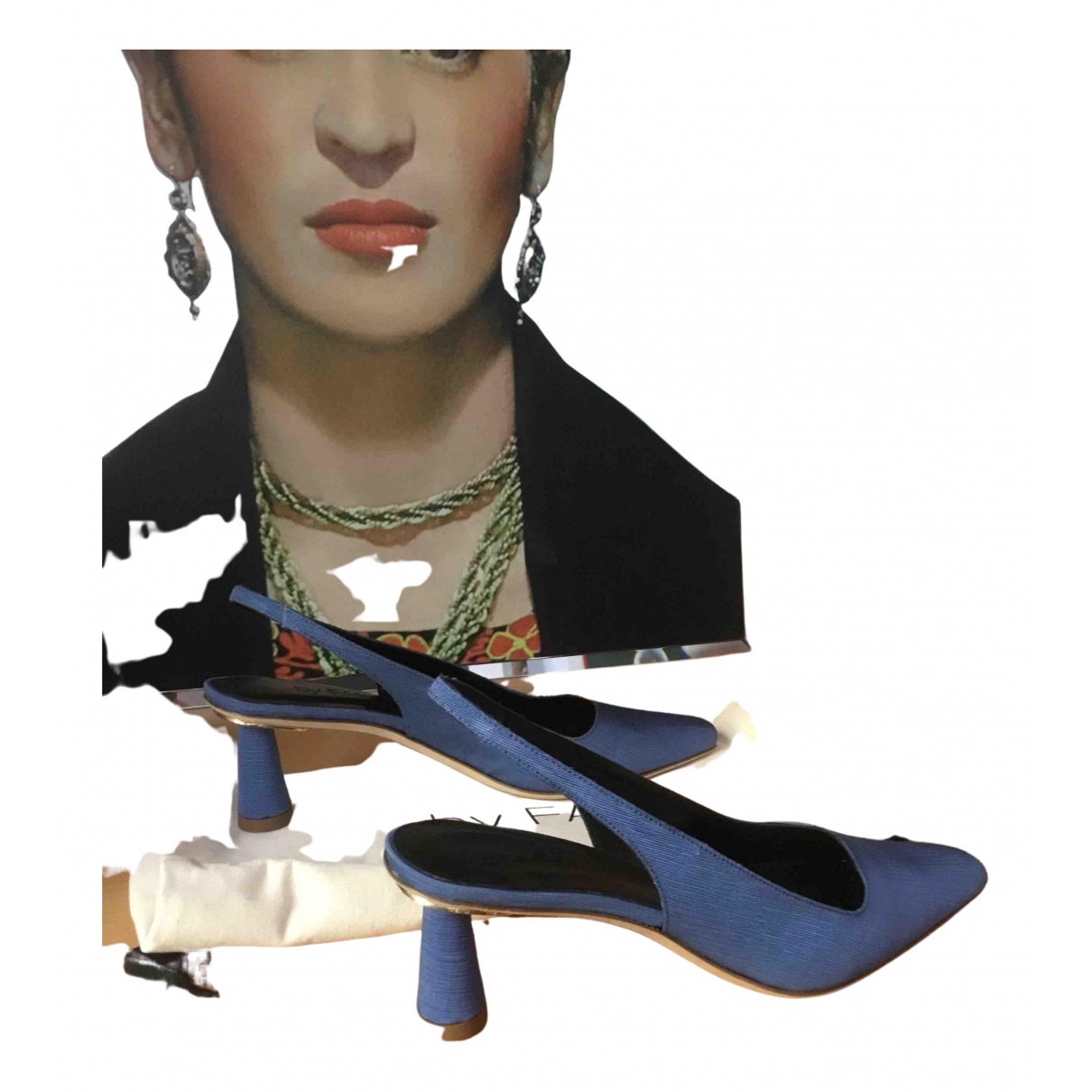 By Far N Cloth Heels for Women 37 IT