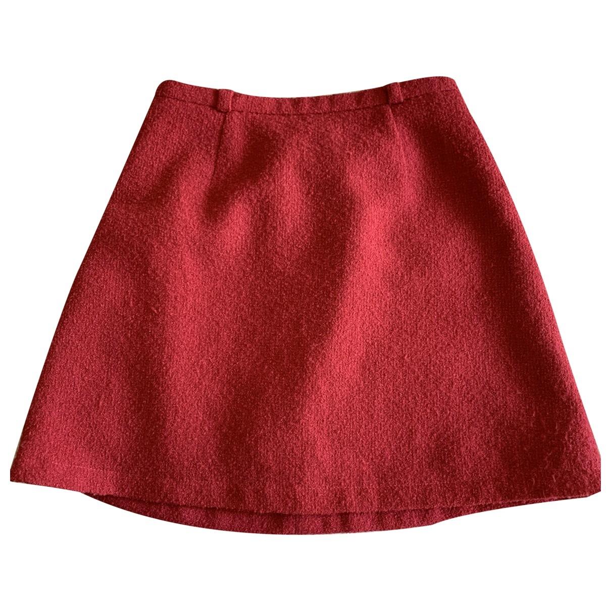 Kenzo - Jupe   pour femme en laine - rose