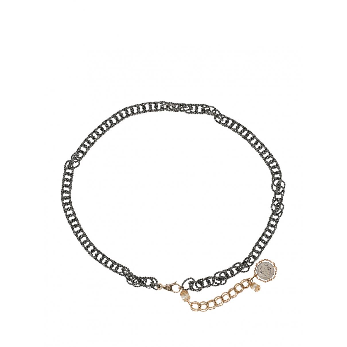 Dolce & Gabbana \N Guertel in  Silber Metall