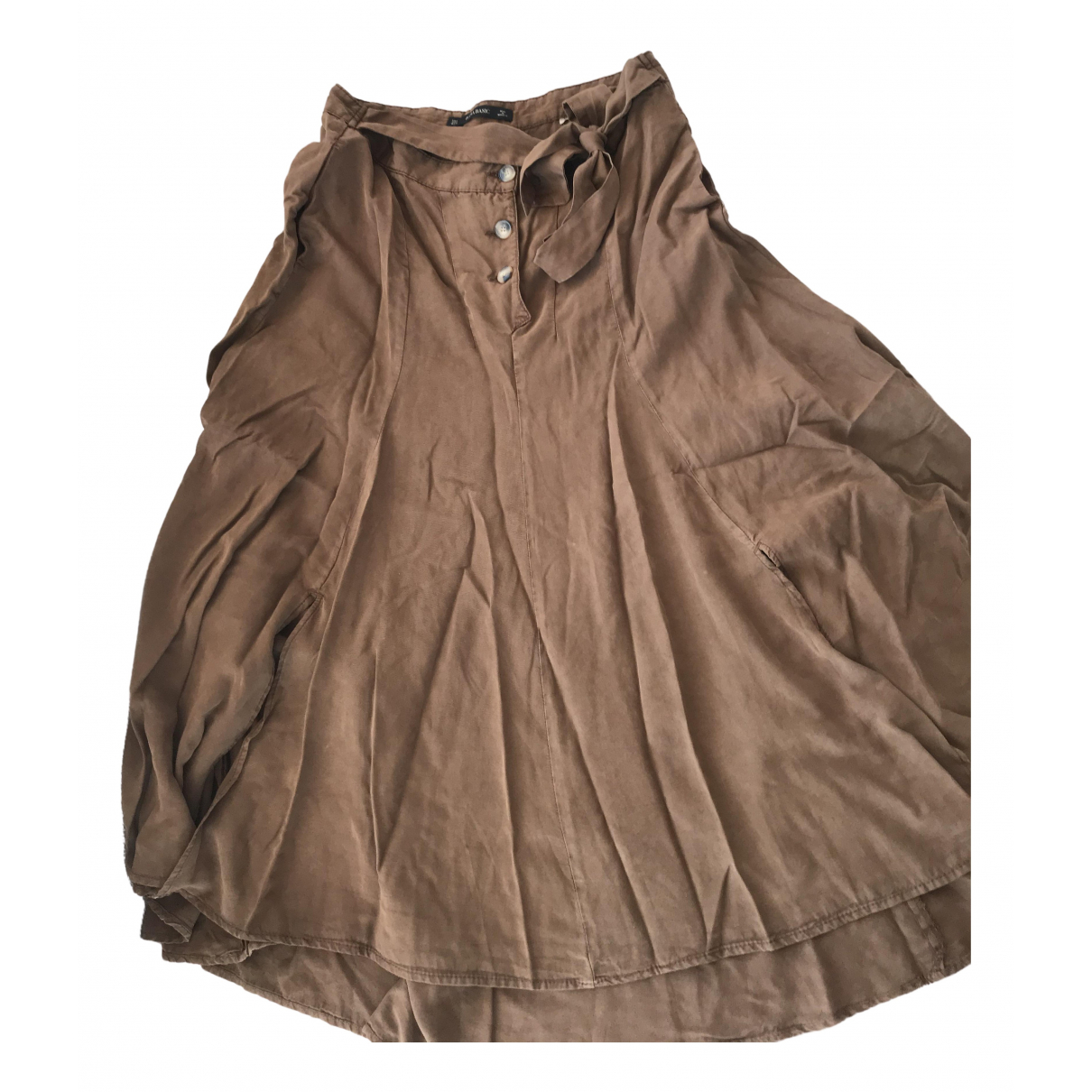 Zara N Brown skirt for Women L International