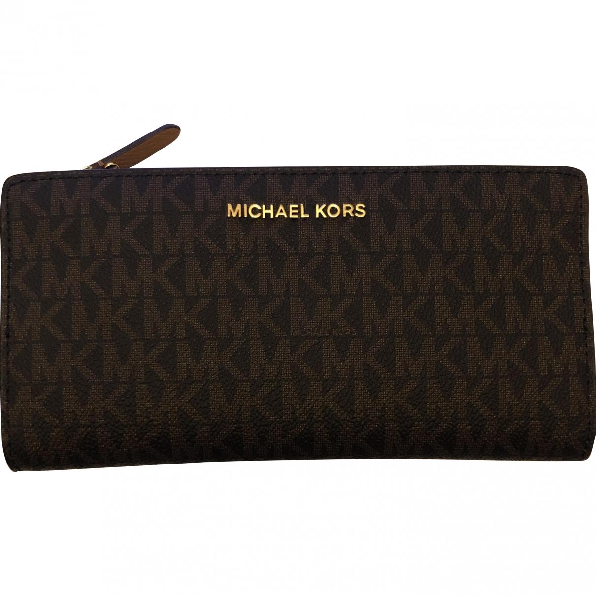 Michael Kors \N Brown Purses, wallet & cases for Women \N