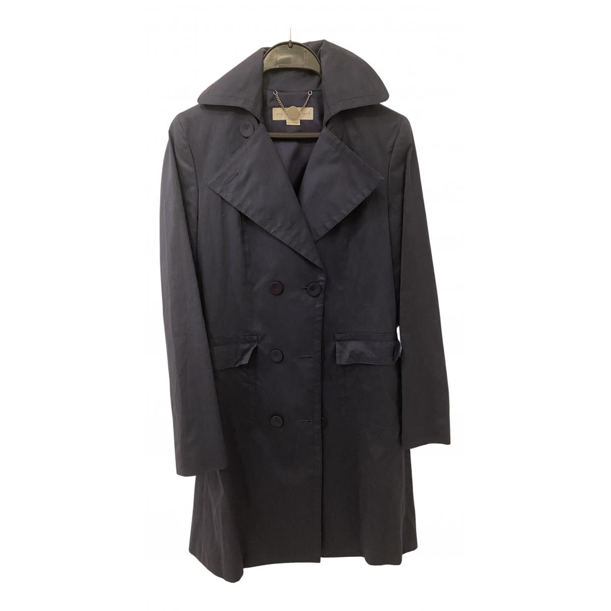 Stella Mccartney N Navy Cotton Trench coat for Women 42 FR