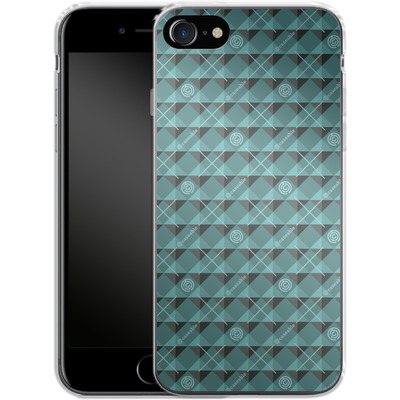 Apple iPhone 8 Silikon Handyhuelle - caseable Pattern von caseable Designs