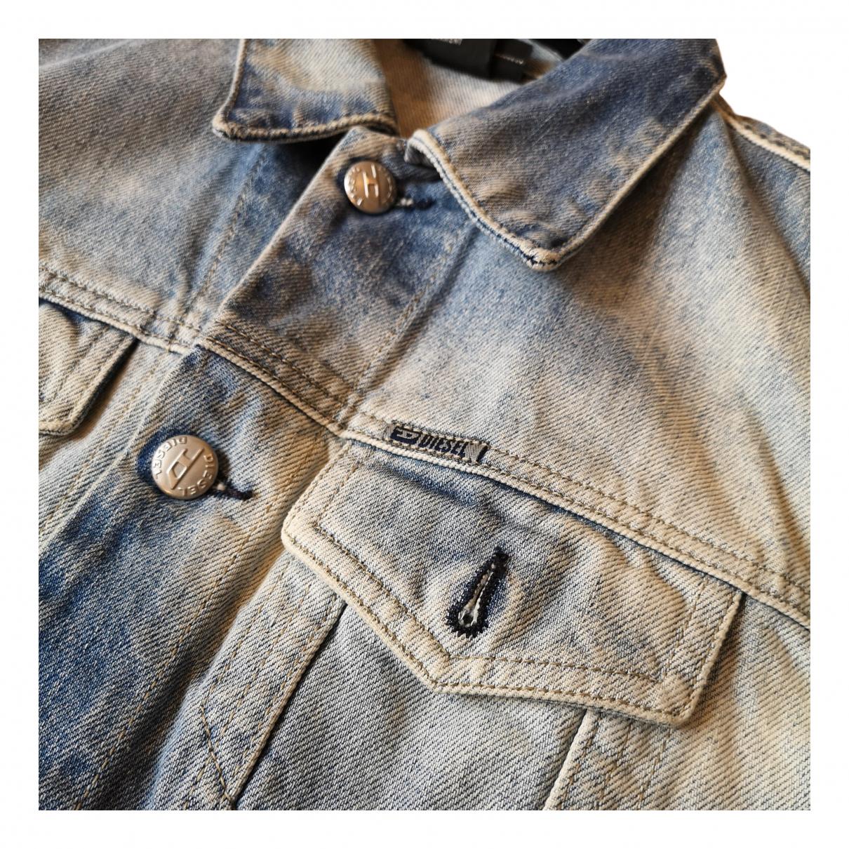 Diesel N Multicolour Denim - Jeans jacket for Women M International