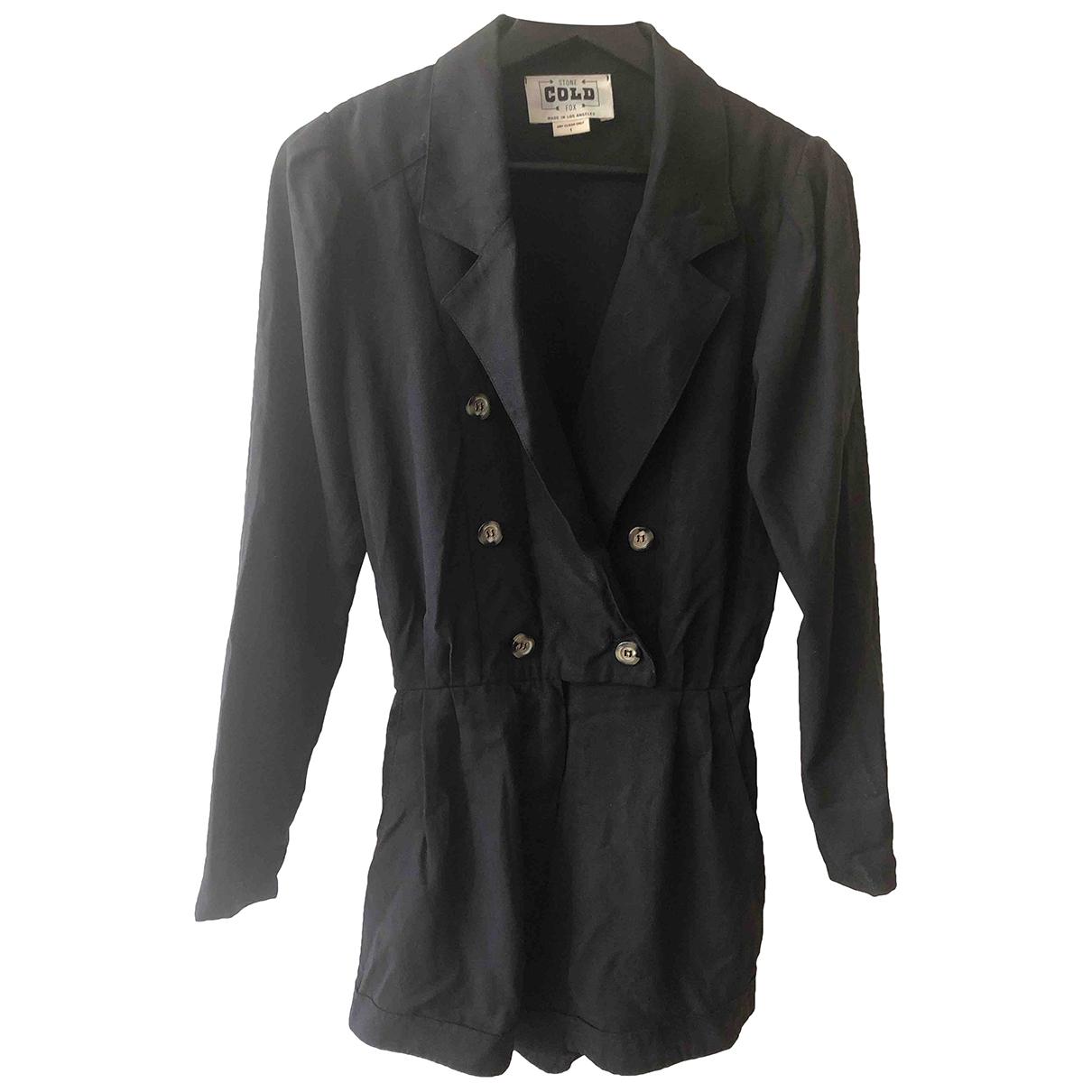 Stone Cold Fox - Combinaison   pour femme en coton - noir