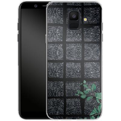 Samsung Galaxy A6 Silikon Handyhuelle - Into the Jungle von Stephanie Breeze