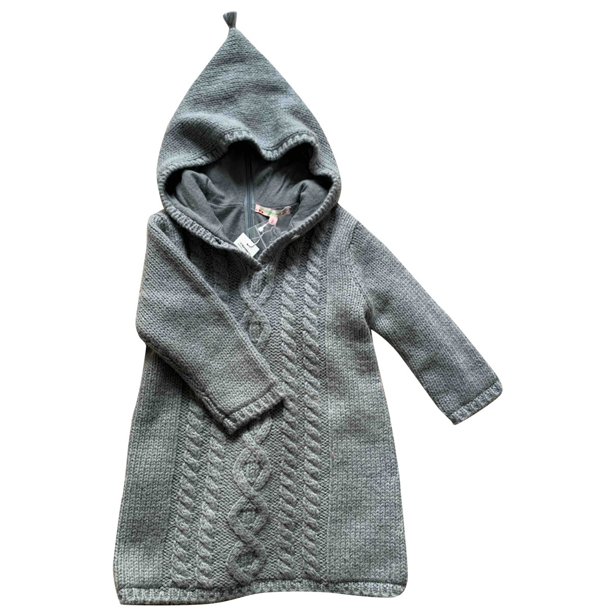 Bonpoint \N Blue Wool jacket & coat for Kids 2 years - up to 86cm FR