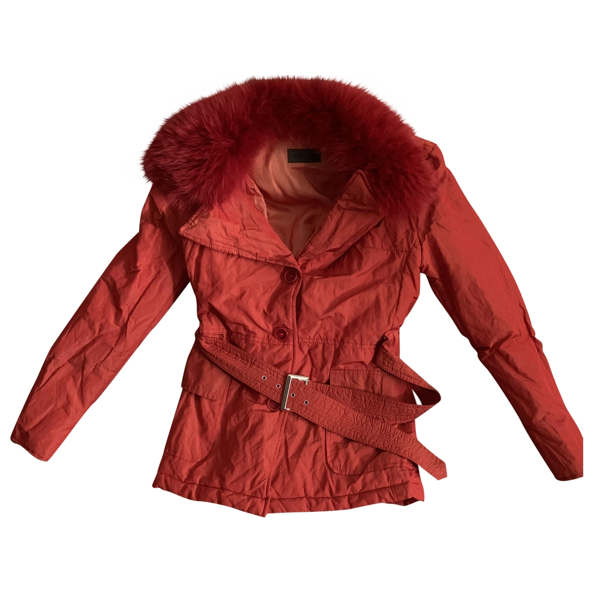 Non Signé / Unsigned \N Red jacket for Women 44 IT