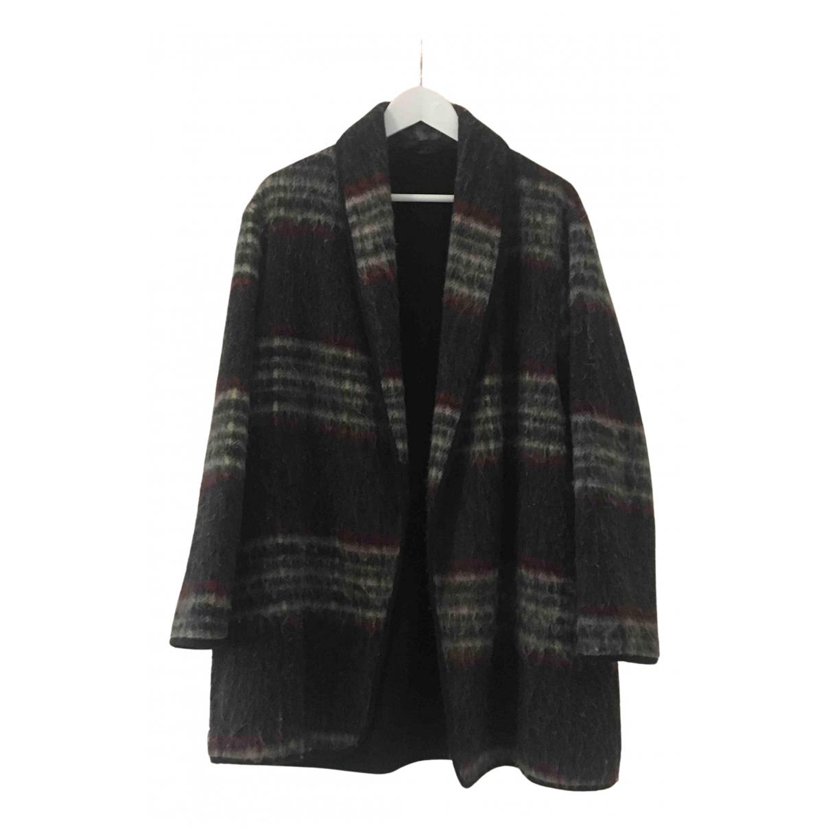 tophop N Grey Wool coat for Women 40 FR
