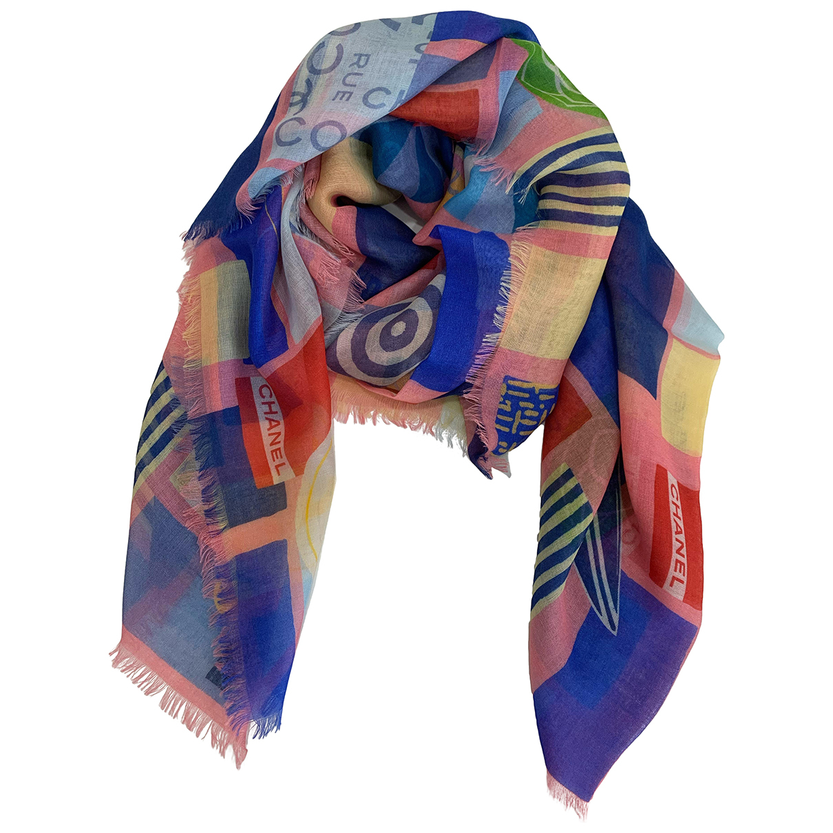 Chanel N Pink Cashmere scarf for Women N