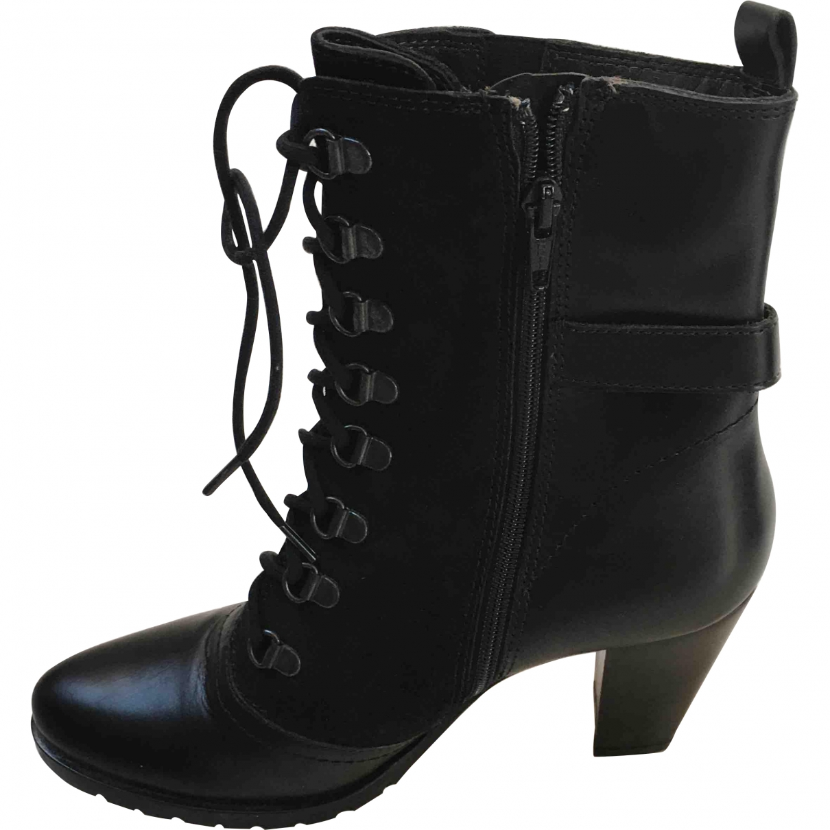 Beoriginal \N Black Exotic leathers Boots for Women 38 EU