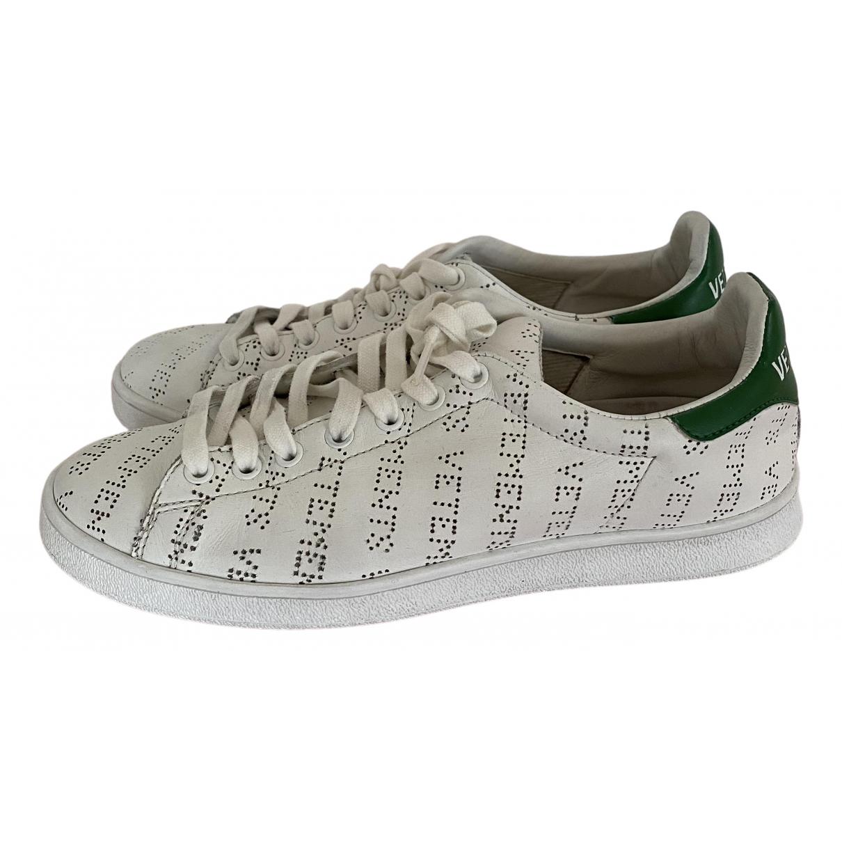 Vetements \N Sneakers in  Weiss Leder
