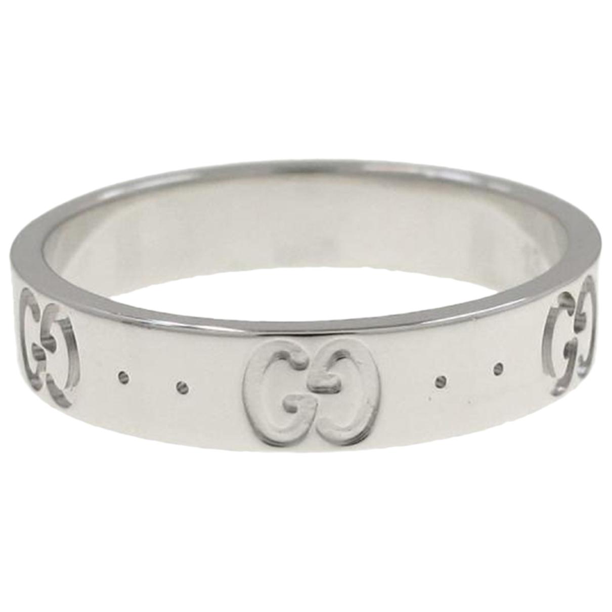 Gucci N White gold ring for Women 53 EU