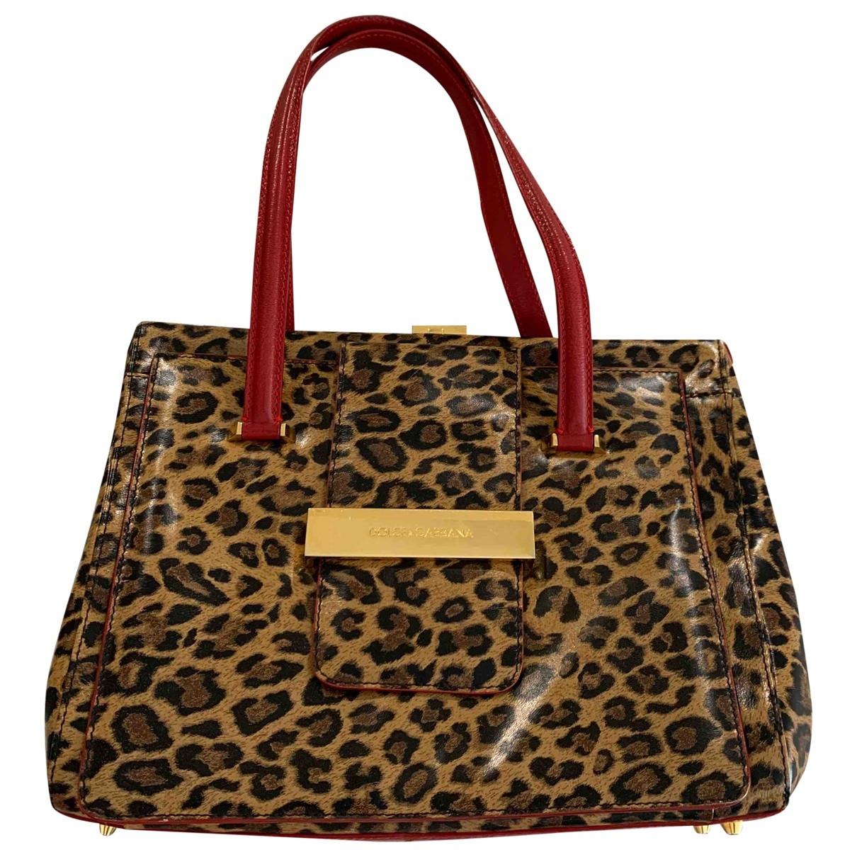 Dolce & Gabbana \N Handtasche in Leinen