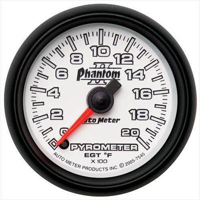 Auto Meter Phantom II Electric Pyrometer Gauge Kit - 7545