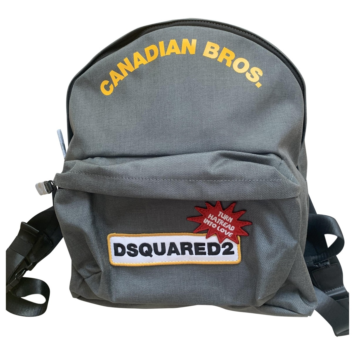 Dsquared2 \N Grey Cloth backpack for Women \N