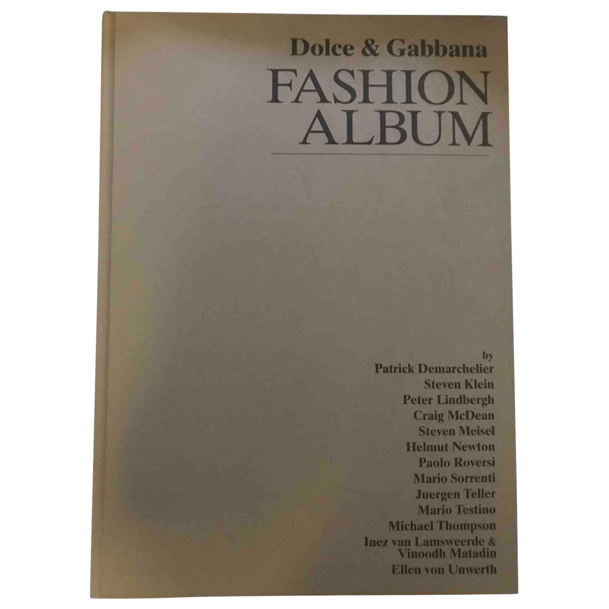 Dolce & Gabbana - Mode   pour lifestyle en bois - anthracite