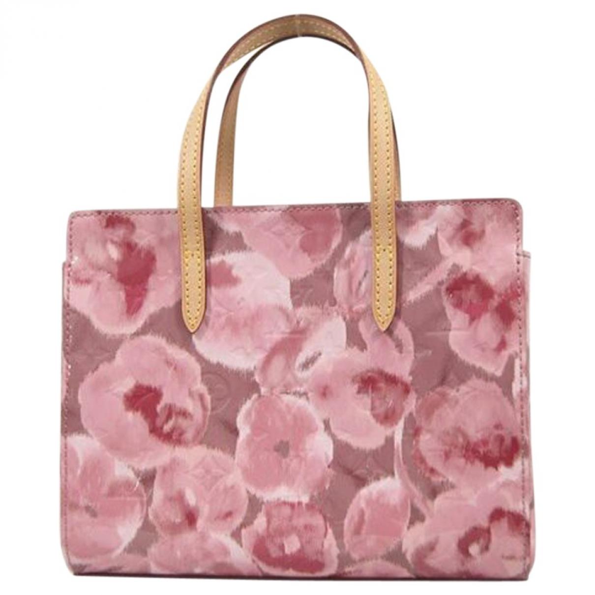 Louis Vuitton Catalina Pink Patent leather handbag for Women \N