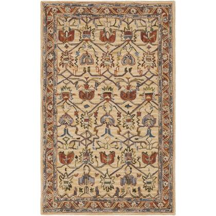 Artemis AES-2302 6' x 9' Rectangle Traditional Rug in