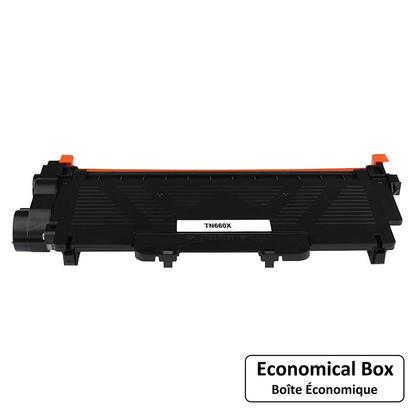 Brother TN-660X cartouche de toner compatible noire extra haute capacité - boîte économique