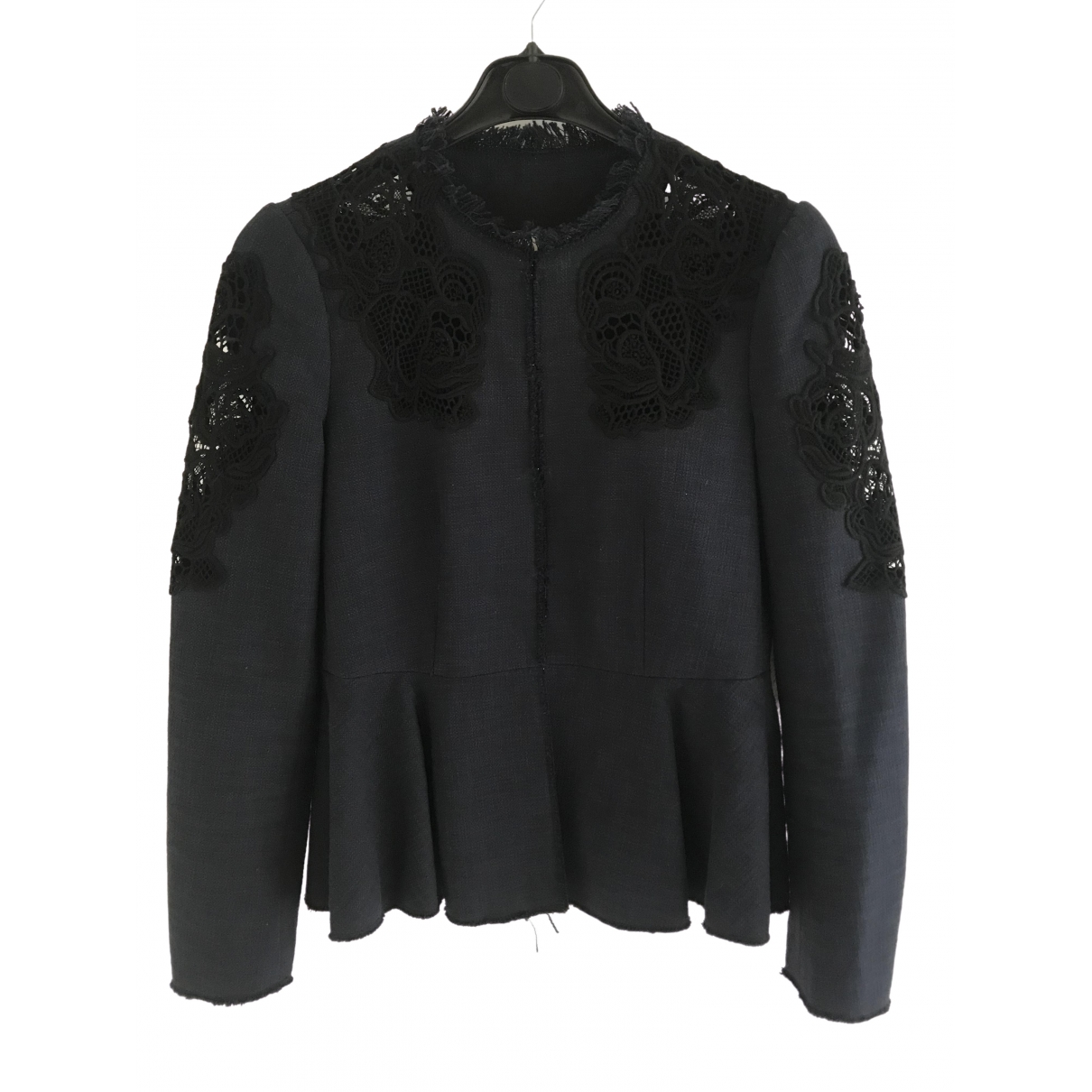 Rebecca Taylor \N Blue Cotton jacket for Women 2 US